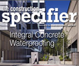Construction Specifier: Integral Concrete Waterproofing