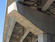: Hycrete products can be used to extend the useful life of bridges. The New England Transportation Consortium commissioned extensive testing of corrosion inhibitors, carried out at the University of Massachusetts. Hycrete X1000 was shown to provide the best protection against corrosion, in uncracked or slightly cracked concrete – it outperformed calcium nitrate and high-performance concrete.