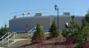 The potable water tank for the Woods of South Barrington Community was waterproofed using Hycrete W500. See case study.