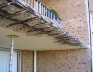 Balconies are exposed and subject to corrosion, especially when exposed to salt. Using Hycrete solutions can protect balconies and reduce maintenance costs.