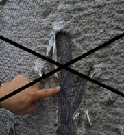No finger-pointing – When there's a leak in a membrane, the waterproofing contractor is likely to blame the concrete contractor for damaging their membrane. With Hycrete waterproofing, there is no membrane. The waterproofing is inside the concrete, and can't be damaged.