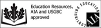 Education Resources, AIA and USGBC Approved