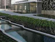Turner Construction used Hycrete W1000 with a membrane for a water feature at 5th and Madison in Seattle, WA. They relied on belt and suspender waterproofing to protect the occupied space below.