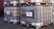 Hycrete admixtures are available in 5 gallon pails, 55 gallon drums, and 275 gallon totes. They are water-based and can be metered in to your concrete like other liquid admixtures.